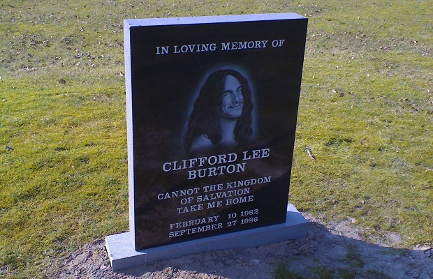cliff burton grave