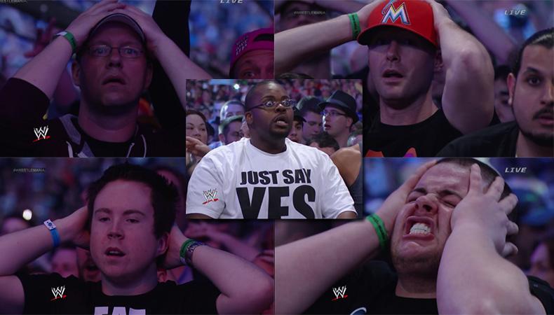 Όλες οι σοκαρισμένες φάτσες από την ήττα του Undertaker στη WrestleMania - Roxx.gr