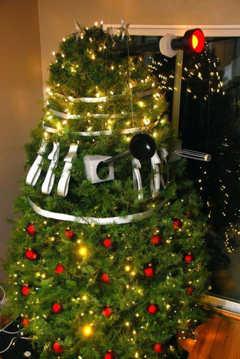 xmas-dalek-christmas-tree