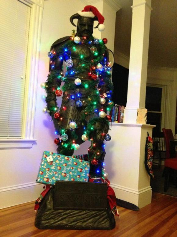xmas-skyrim-dovakiin-christmas-tree