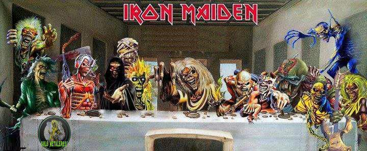 Iron Maiden - The Last Supper - Eddie
