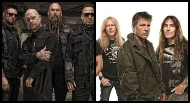 Οι Five Finger Death Punch πάνω από τους Iron Maiden στην Αμερική - Roxx.gr
