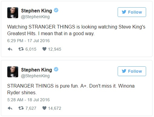 stephen king stranger things