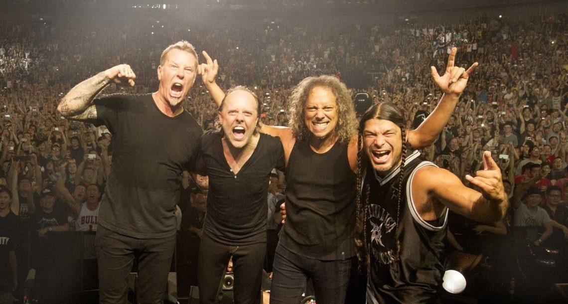Οι Metallica έπαιξαν Oasis στο Μάντσεστερ! - Roxx.gr