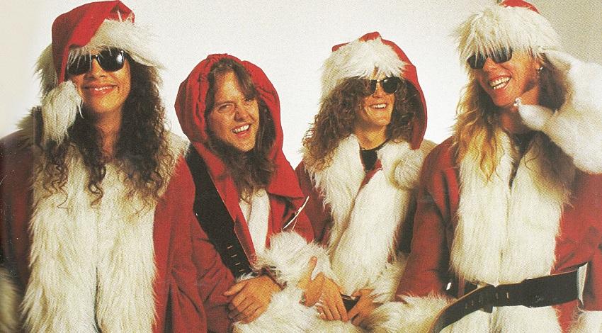 Δέκα τραγούδια των Metallica σε χριστουγεννιάτικες εκτελέσεις! - Roxx.gr