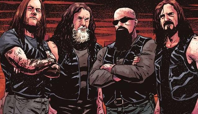 Δείτε τις έξι πρώτες σελίδες από το κόμικ των Slayer - Roxx.gr