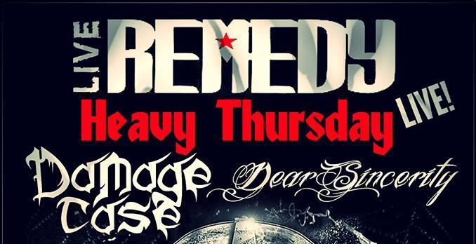 Heavy Thursday στο Remedy με Damage Case και Dear Sincerity - Roxx.gr