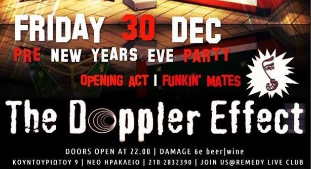 Απόψε στο Remedy: The Doppler Effect με εορταστικό setlist - Roxx.gr