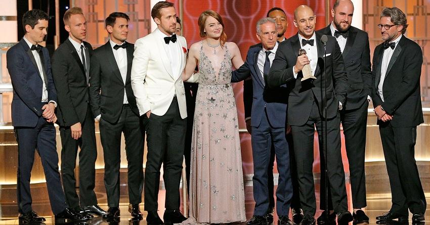 Σάρωσε το La La Land στις Χρυσές Σφαίρες – Καλύτερη σειρά το The Crown - Roxx.gr