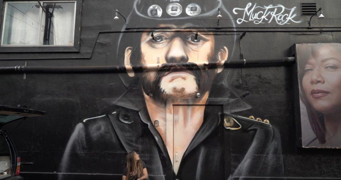 Έτσι φτιάχτηκε η εντυπωσιακή τοιχογραφία του Lemmy έξω από το Rainbow - Roxx.gr