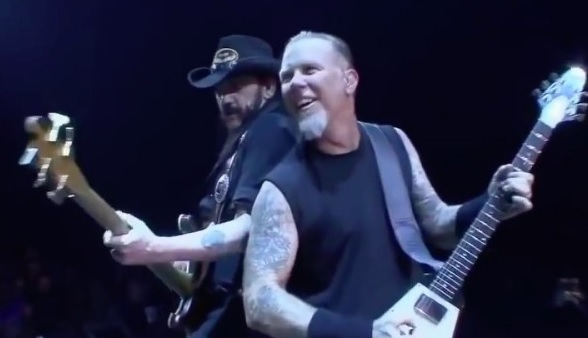 Hetfield για τον Lemmy: « Ήταν ο καπετάνιος του πλοίου» - Roxx.gr