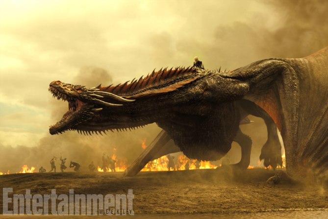 Νέες φωτογραφίες Game of Thrones: Οι δράκοι είναι τεράστιοι! - Roxx.gr