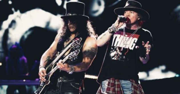 O Axl Rose έχει μπόλικο υλικό για νέο άλμπουμ των Guns N' Roses - Roxx.gr