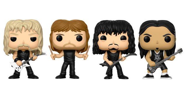 Οι Funko Pop φιγούρες των Metallica έρχονται τον Αύγουστο! - Roxx.gr