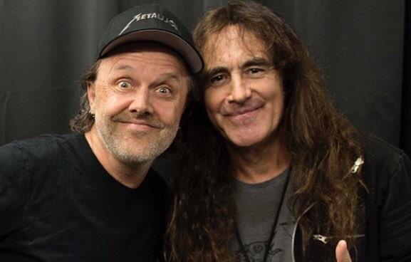 Ο Steve Harris είδε τους Metallica στον Καναδά και έβγαλε φωτογραφία με τον Lars Ulrich! - Roxx.gr