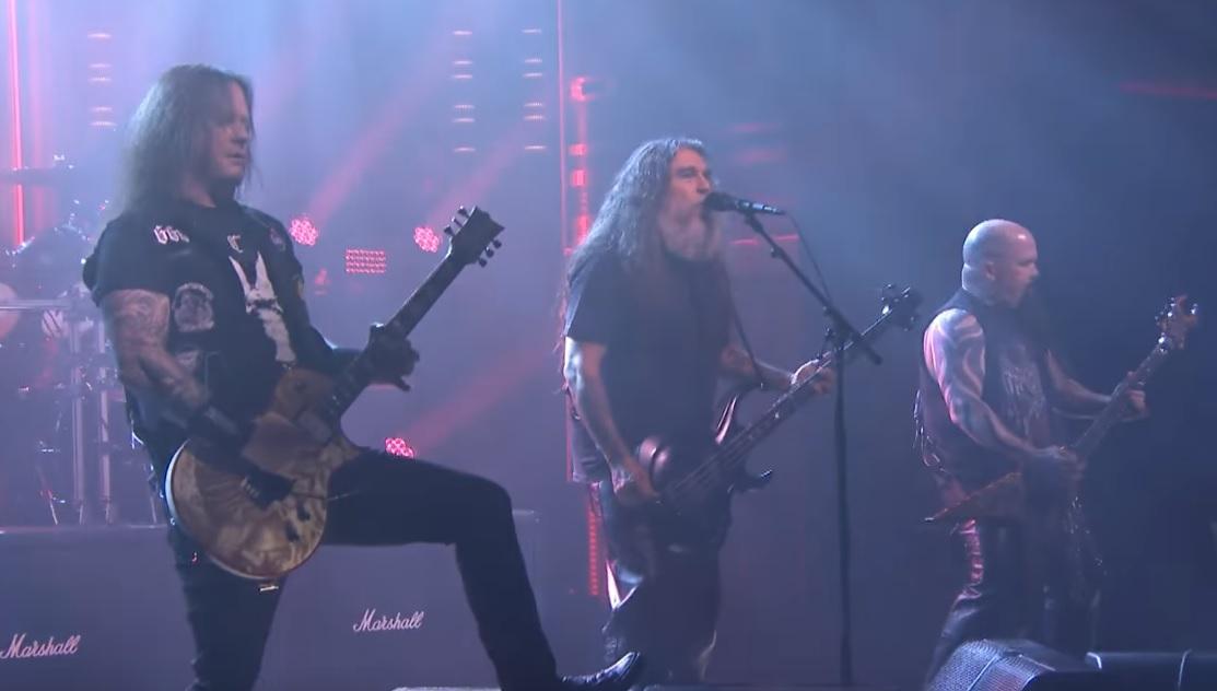 Οι Slayer σάρωσαν την εκπομπή του Τζίμι Φάλον παίζοντας το Raining Blood - Roxx.gr