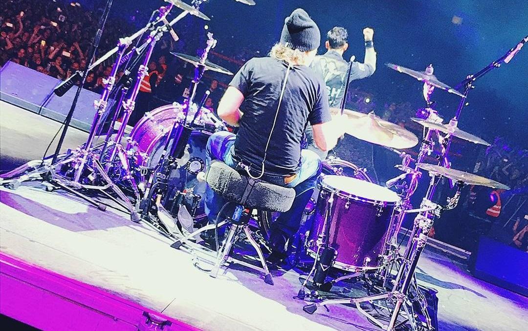 Ο Lars Ulrich έπαιξε ζωντανά με τους Volbeat στην Κοπεγχάγη - Roxx.gr
