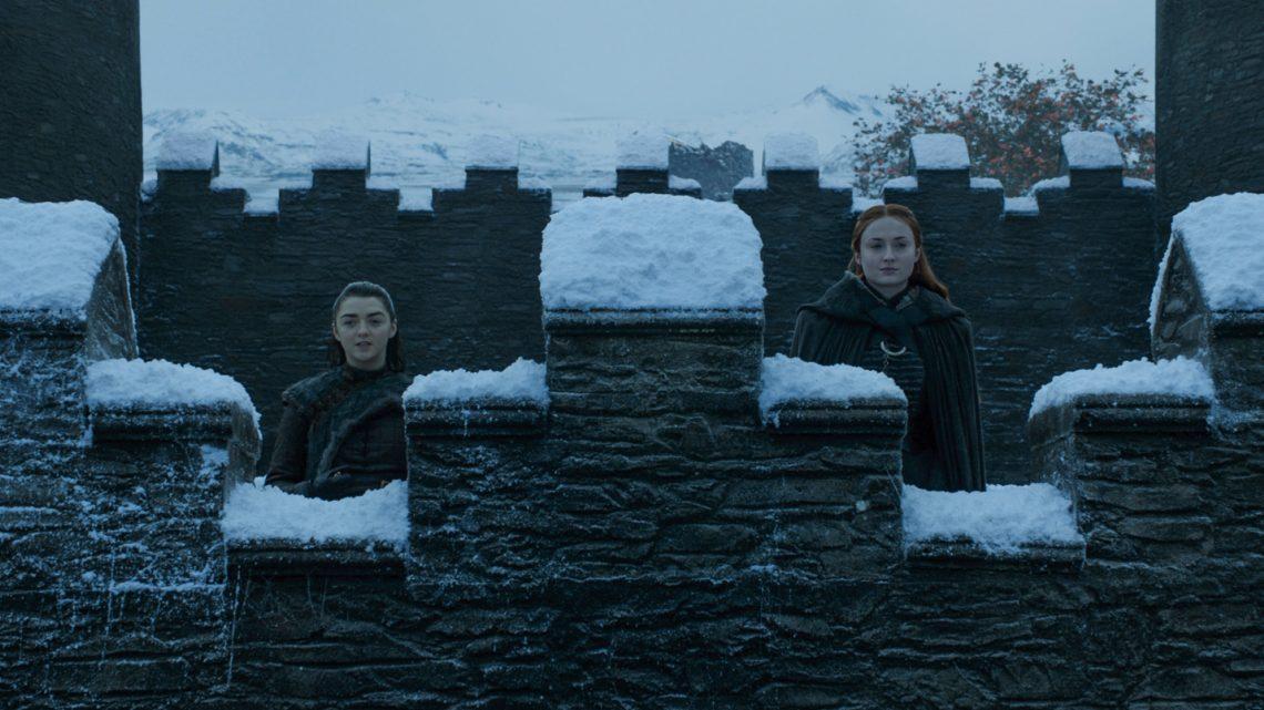 Οι αδελφές Σταρκ κάνουν όλη τη δουλειά στο Game of Thrones και τα δείχνουν σε όλους - Roxx.gr
