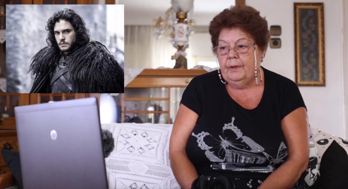 Ελληνίδα γιαγιά αντιδρά στο Game of Thrones: «Μπράβο Τζον»! - Roxx.gr
