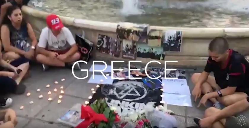 Και η Ελλάδα στο επίσημο βίντεο των Linkin Park για τις εκδηλώσεις στη μνήμη του Chester - Roxx.gr