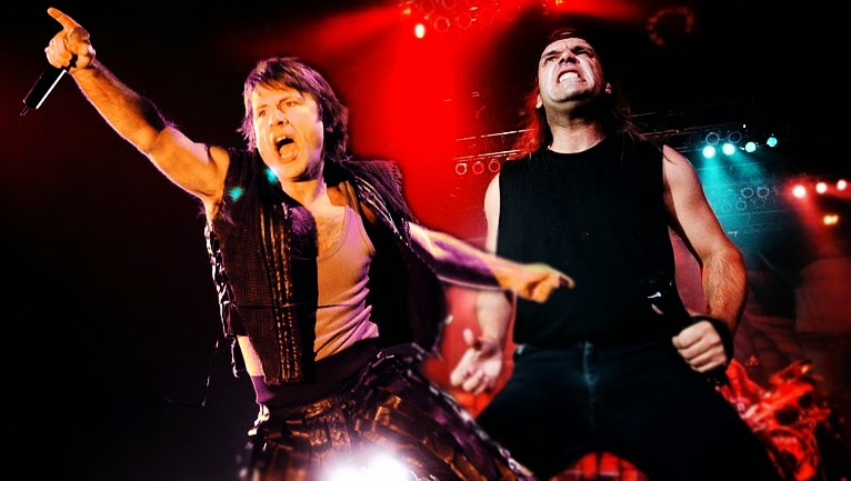 O Bruce Dickinson είχε εκπλαγεί από την απόφαση των Iron Maiden να επιλέξουν τον Blaze Bayley - Roxx.gr
