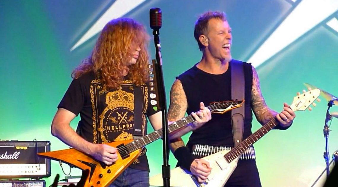 Mustaine: «Ο μάνατζερ των Metallica με είπε κότα επειδή θα έκανα εγχείρηση» - Roxx.gr