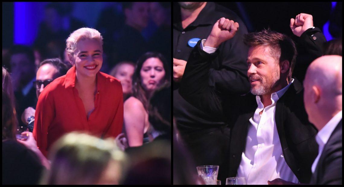 Ο Μπραντ Πιτ προσέφερε 120.000 δολάρια για να δει ένα έπεισοδιο του Game of Thrones με την Ντενέρις! - Roxx.gr