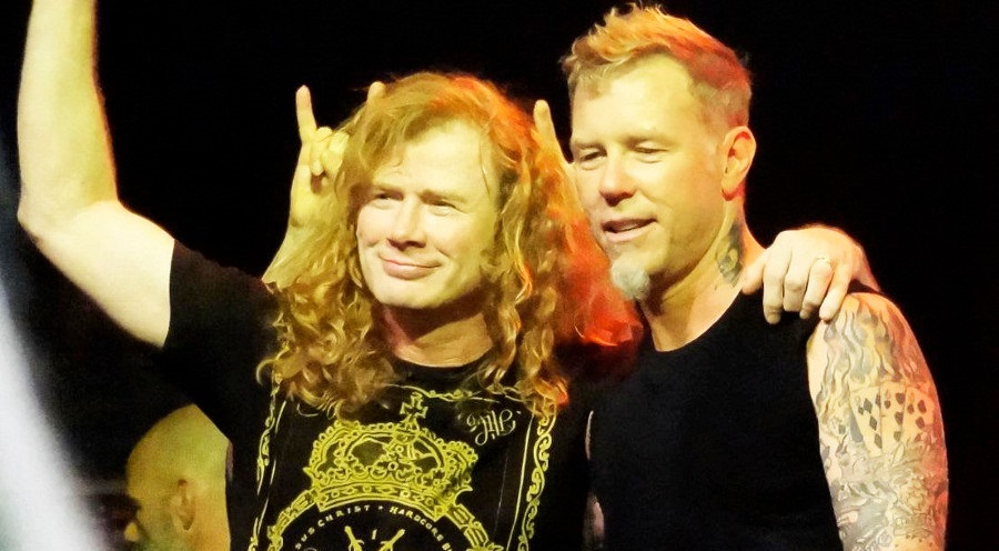 O James Hetfield επικοινώνησε με τον Dave Mustaine όταν έμαθε για τον καρκίνο - Roxx.gr