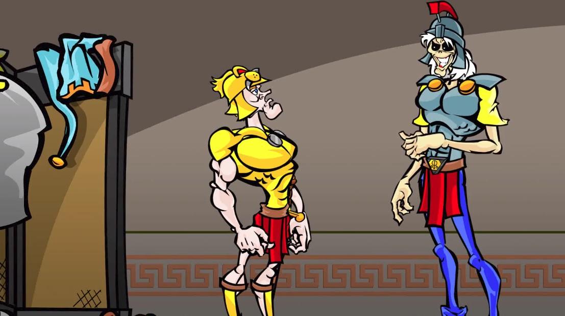 O Eddie καθοδηγεί τον Μέγα Αλέξανδρο σε αυτό το φανταστικό animation για το Alexander The Great - Roxx.gr