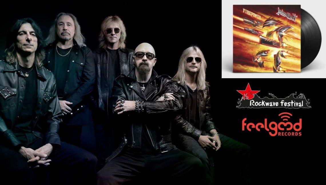 Μεγάλος διαγωνισμός Judas Priest: Πρόσκληση για το Rockwave και το Firepower σε βινύλιο - Roxx.gr