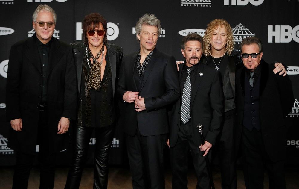 Οι Bon Jovi μπήκαν στο Rock and Roll Hall of Fame μαζί με τον Richie Sambora - Roxx.gr