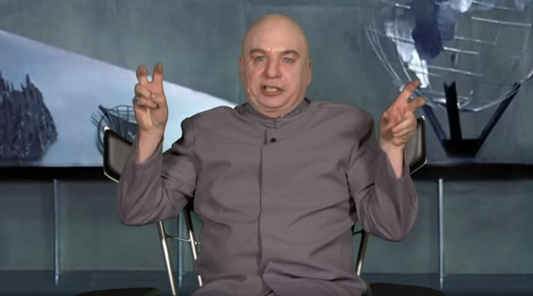 Ο Dr Evil ανακοίνωσε ότι… κατεβαίνει για πρόεδρος μαζί με τον Ζούκεμπεργκ! - Roxx.gr