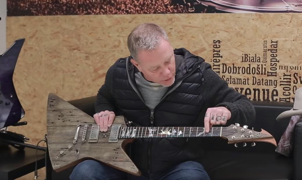 Η εκπληκτική ιστορία πίσω από τη νέα κιθάρα του James Hetfield - Roxx.gr