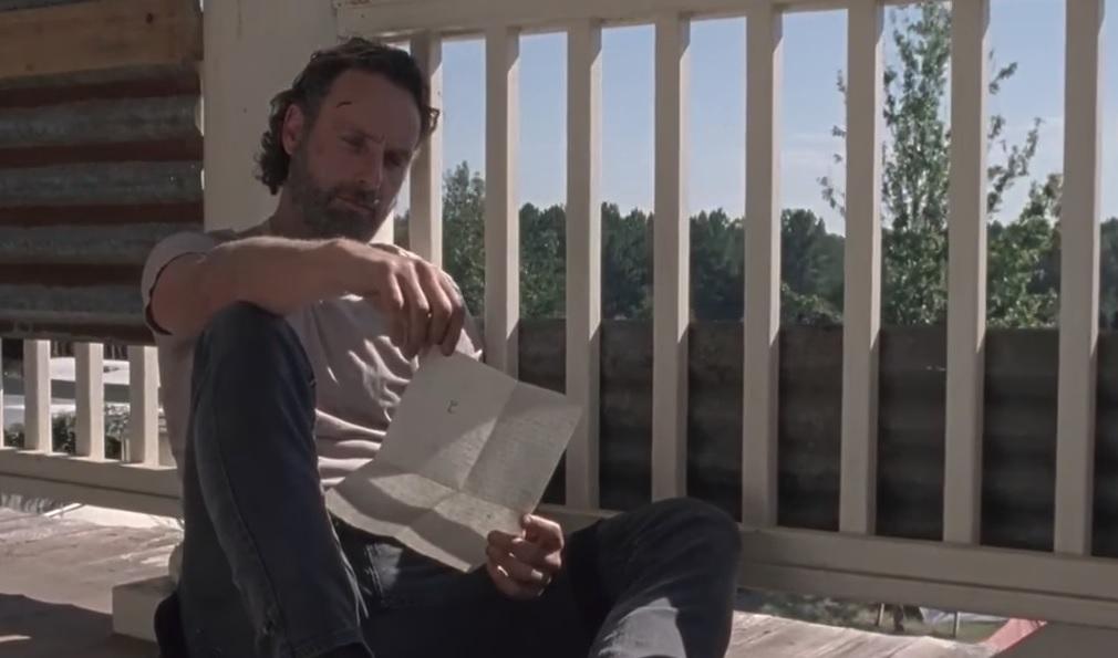 Αυτό είναι το γράμμα του Καρλ που λυγίζει τελικά τον Ρικ στο Walking Dead - Roxx.gr