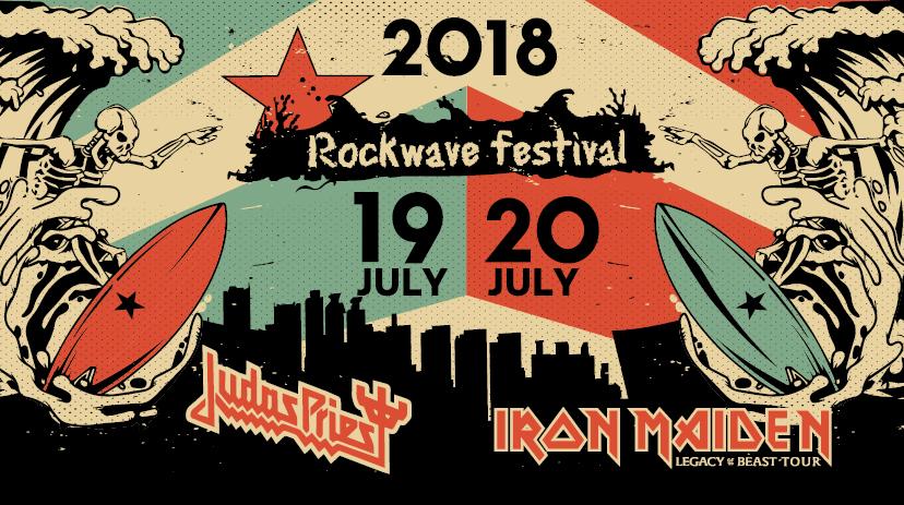 Οι ώρες εμφάνισης για Iron Maiden και Judas Priest στο Rockwave - Roxx.gr