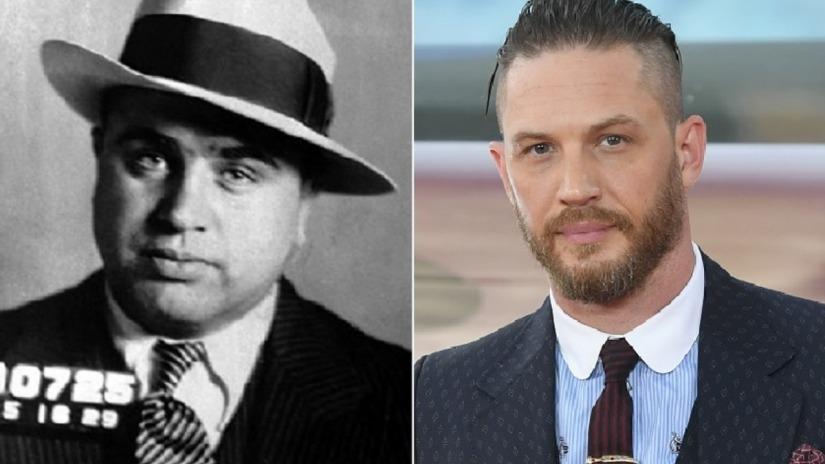 Απίστευτη μεταμόρφωση του Τομ Χάρντι για το ρόλο του Αλ Καπόνε! - Roxx.gr