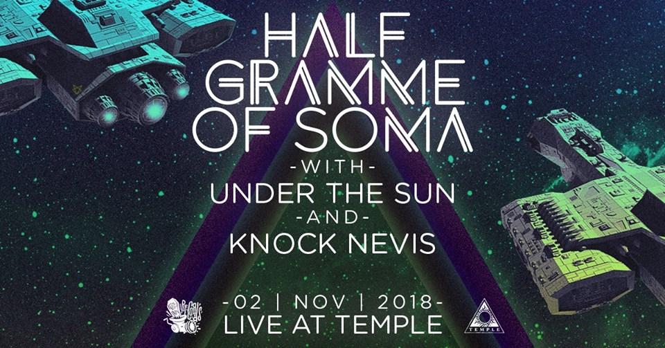 Οι HALF Gramme of SOMA έρχονται στο Temple - Roxx.gr