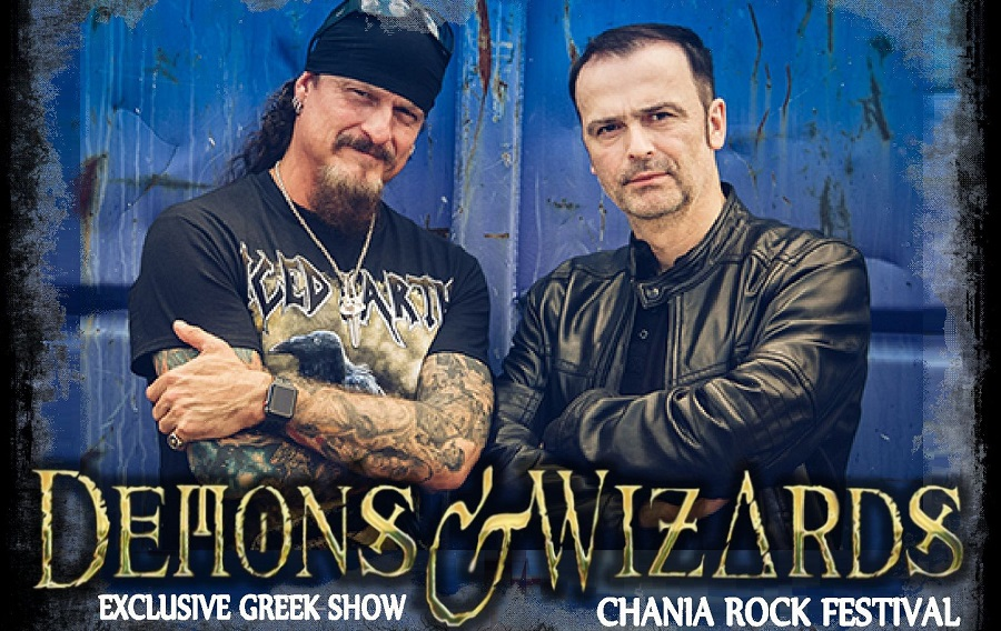 Οι Demons & Wizards στο Chania Rock Festival - Roxx.gr