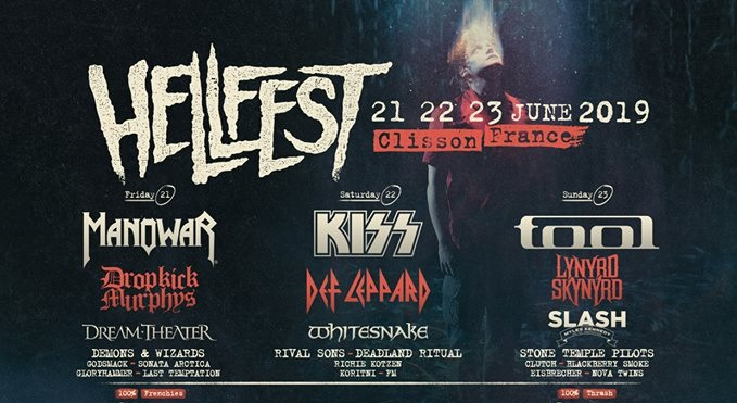 Manowar, Kiss και Tool οι headliners στο Hellfest! - Roxx.gr