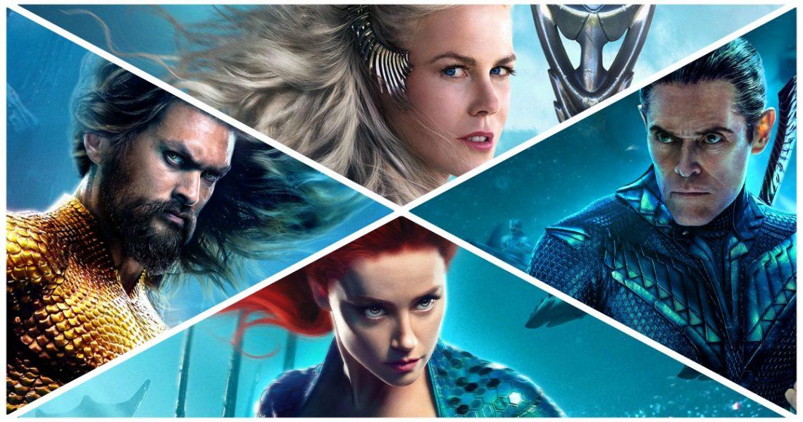 Ο Aquaman και η παρέα του μας συστήνονται μέσα από επτά πόστερ - Roxx.gr