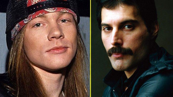 Axl Rose: «Οι Queen είναι το καλύτερο συγκρότημα όλων των εποχών» - Roxx.gr