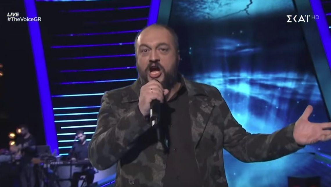 Τραγούδησε στο ελληνικό Voice τη διασκευή των Disturbed στο Sound of Silence! - Roxx.gr