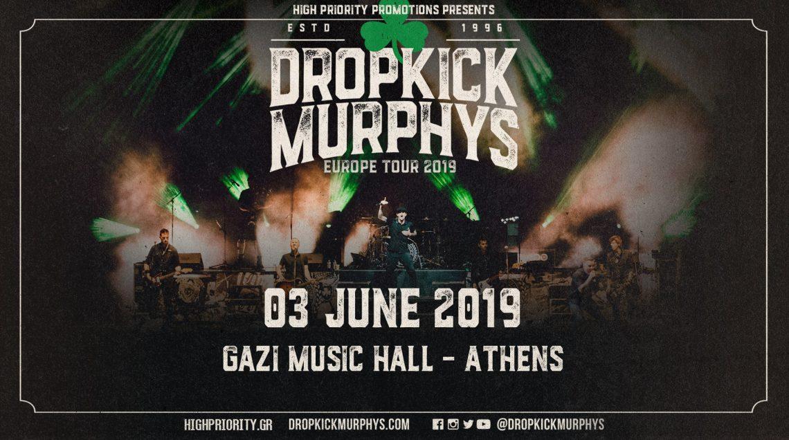 Φανταστικό βίντεο για την επιστροφή των Dropkick Murphys στην Αθήνα - Roxx.gr