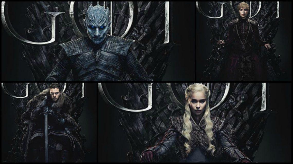 Το Game of Thrones βάζει όλους τους πρωταγωνιστές στον θρόνο στα νέα του πόστερ! - Roxx.gr