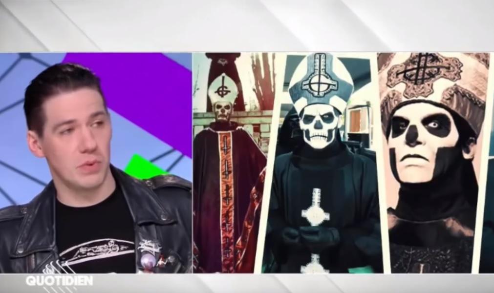 Ο τραγουδιστής των Ghost εμφανίστηκε κανονικά μπροστά στην κάμερα για πρώτη φορά! - Roxx.gr