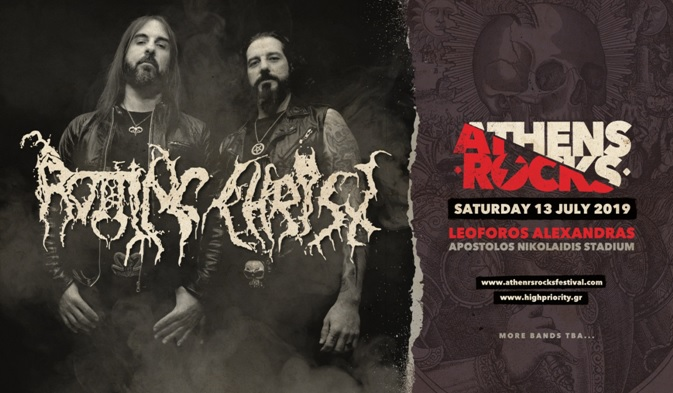 Οι Rotting Christ μαζί με τους Slayer στο AthensRocks - Roxx.gr