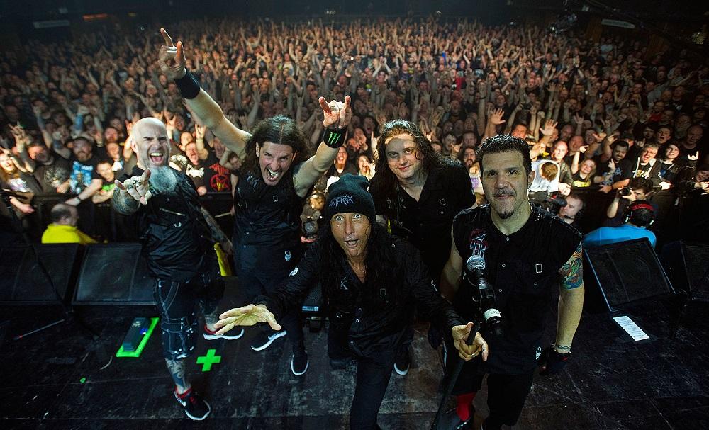 Οι Anthrax στο Release Athens μαζί με τους Disturbed! - Roxx.gr