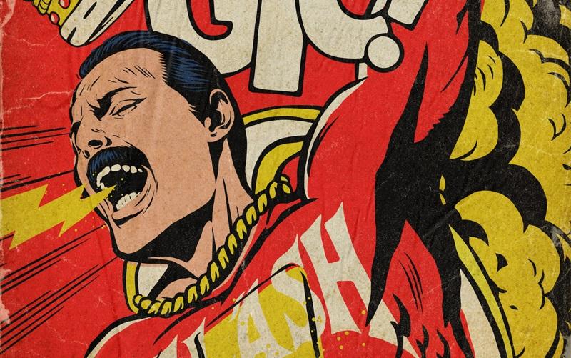 O Freddie Mercury μεταμορφώνεται σε σούπερ ήρωα σε αυτά τα φανταστικά πόστερ! - Roxx.gr