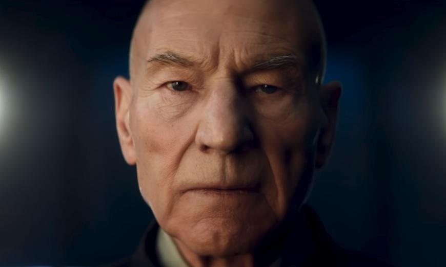 To πρώτο ανατριχιαστικό teaser για την επιστροφή του Πάτρικ Στιούαρτ στο Star Trek - Roxx.gr
