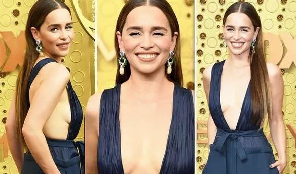 Emilia Clarke: Όλα τα βλέμματα στην «Ντενέρις» στα βραβεία Emmy - Roxx.gr